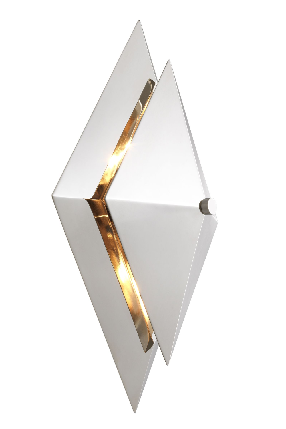 Silver Diamond Wall Lamp | Eichholtz Augustas