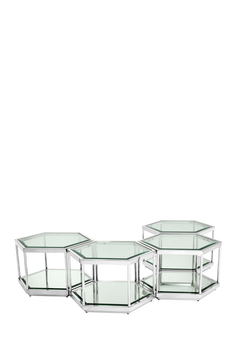 Hexagonal Coffee Table Set | Eichholtz Sax | 1# Eichholtz Retailer