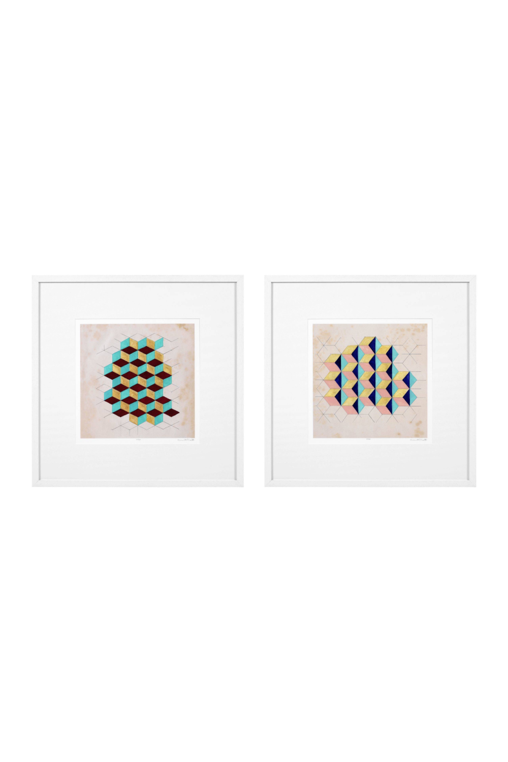 Pattern Prints Set | Eichholtz Geometric | Woodfurniture.com