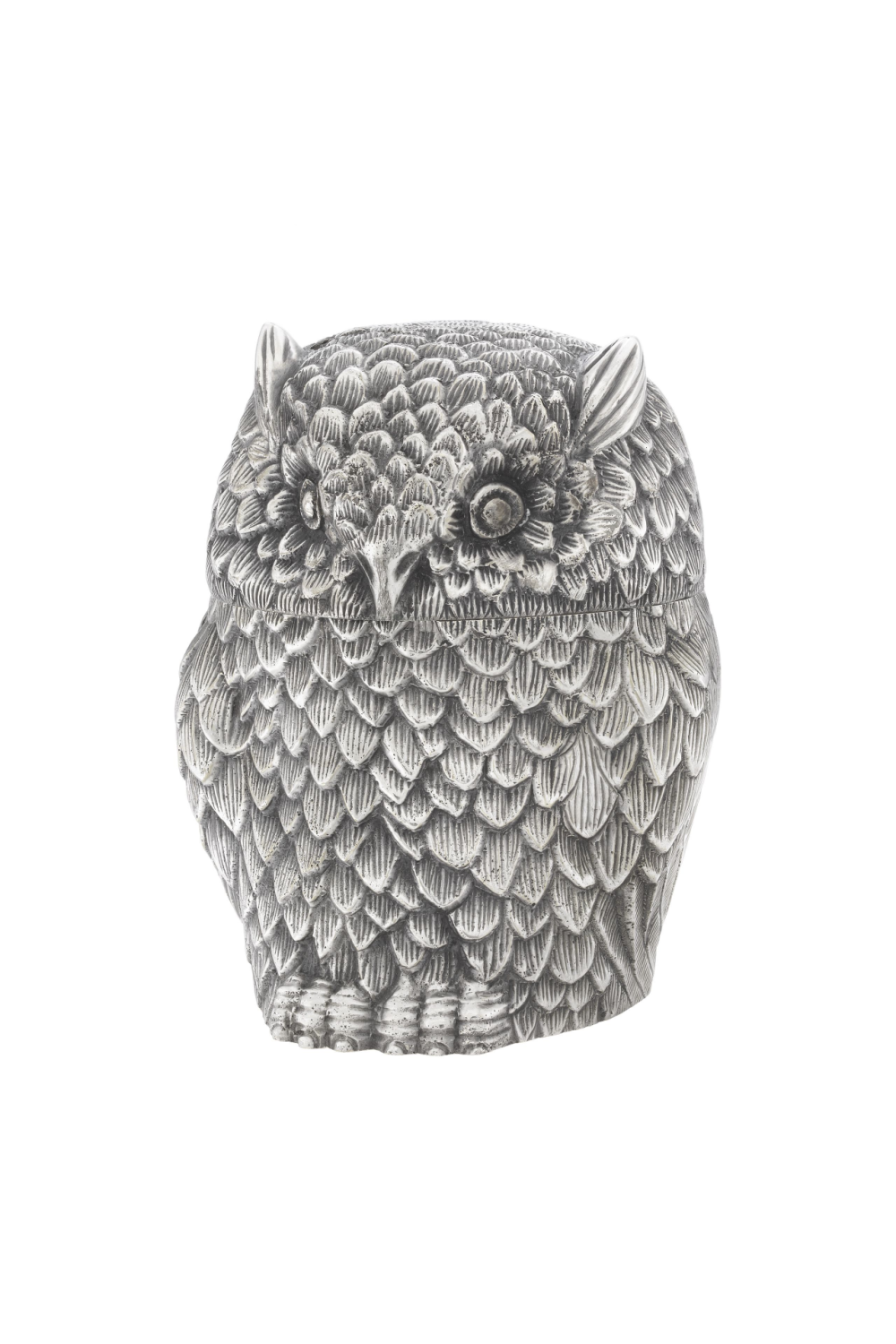 Antique Silver Decorative Box | Eichholtz Owl