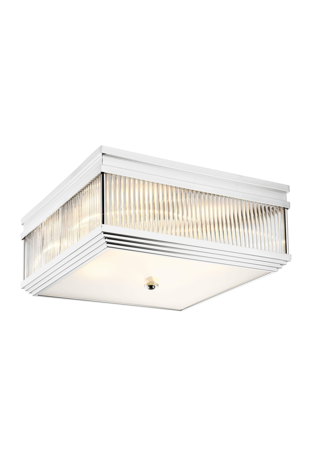 Silver Square Flush Mount | Eichholtz Marly
