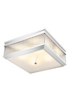 Silver Square Flush Mount | Eichholtz Marly | OROA - Luxury Lighting