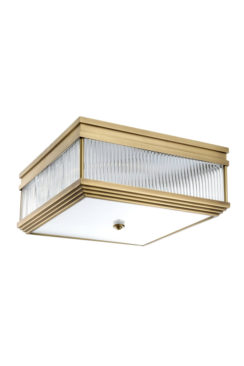 Brass Square Flush Mount | Eichholtz Marly