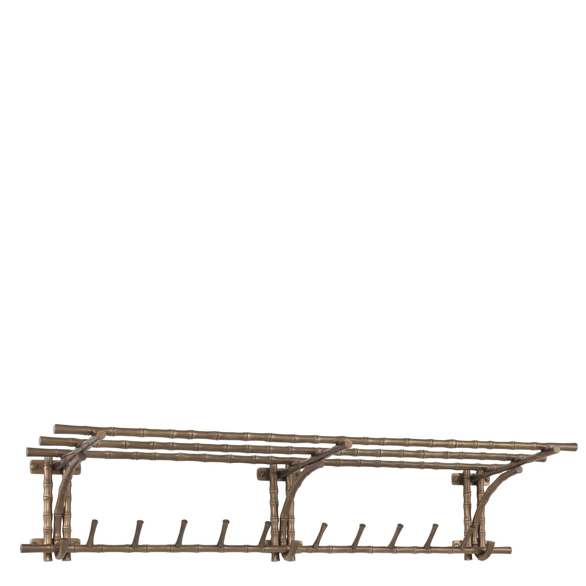 Vintage Brass Coatrack - L | Eichholtz Haiti | OROA - Luxury Decor