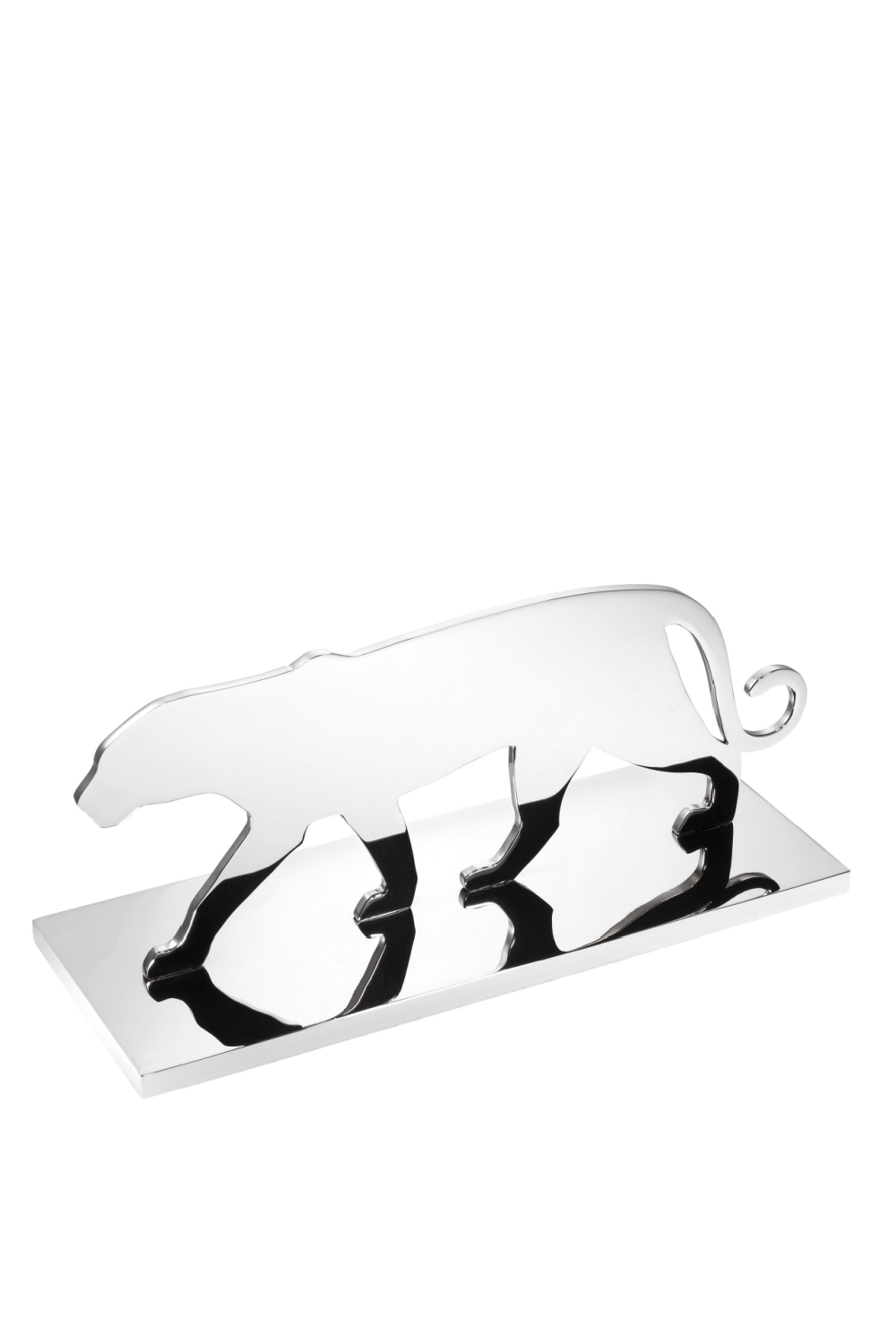 Silver Decorative Object | Eichholtz Panther Silhouette | OROA
