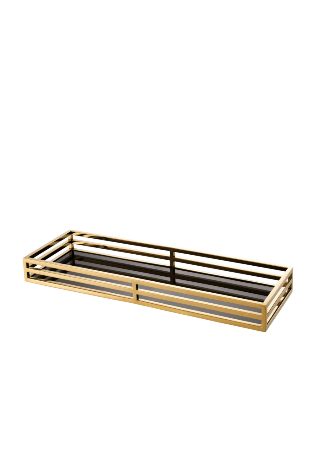 Black and Gold Serving Tray | Eichholtz Ersa | OROA Luxury Decor