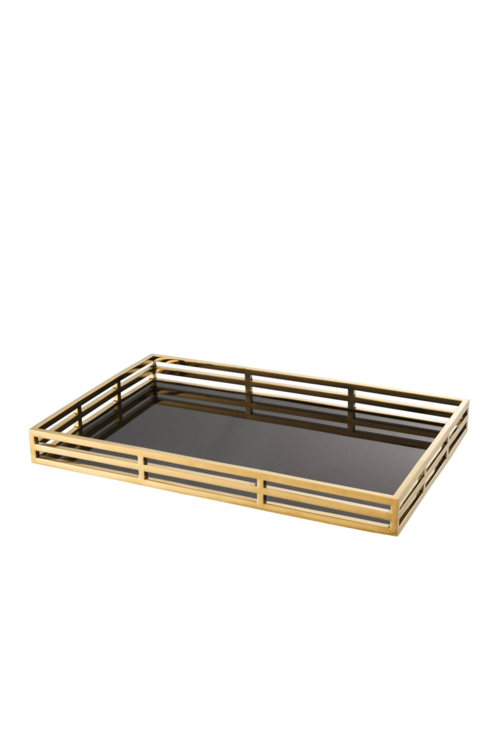 Black and Gold Serving Tray | Eichholtz Giacomo