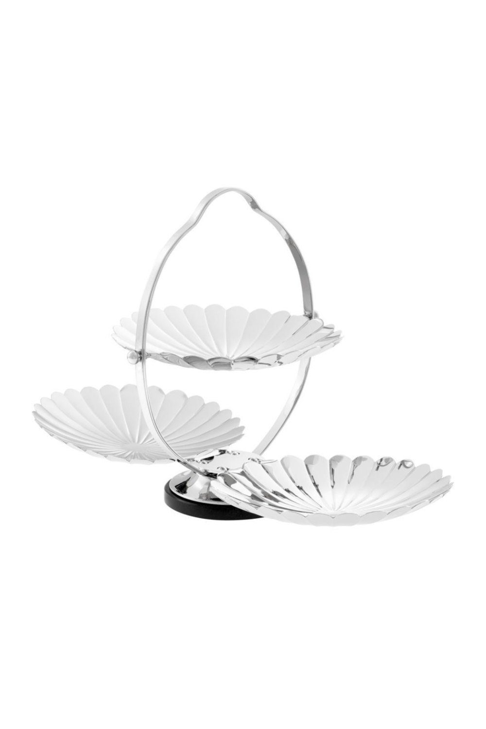 3 Tier Scalloped Tray | Eichholtz Beatrice