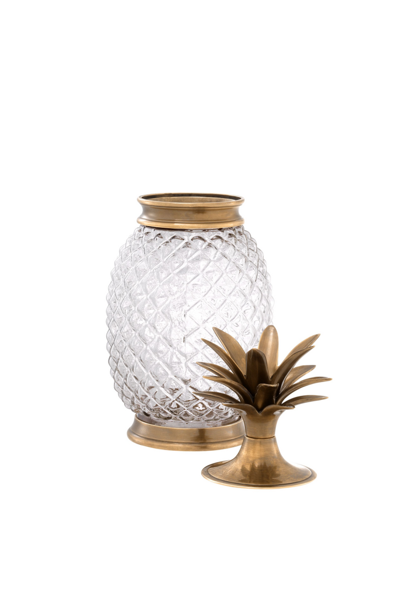 Glass Pineapple Jar | Eichholtz Hayworth