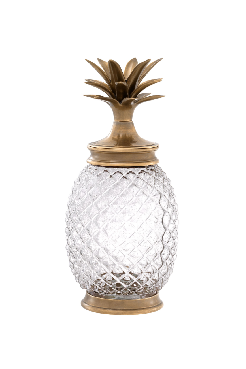 Glass Pineapple Jar | Eichholtz Hayworth | OROA - Luxury Decor
