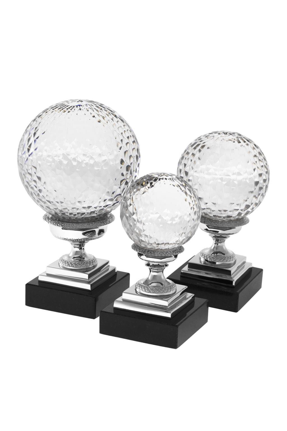 Glass Globe Object Set of 3 | Eichholtz Divani | #1 Eichholtz Retailer