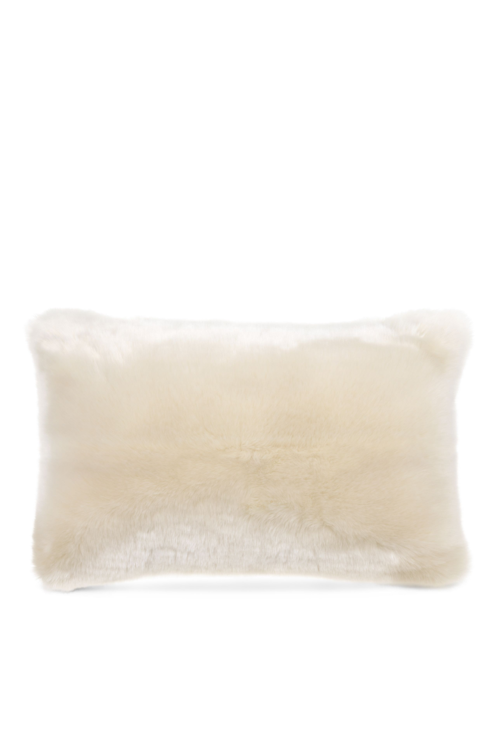 White Fur Cushion | Eichholtz Alaska