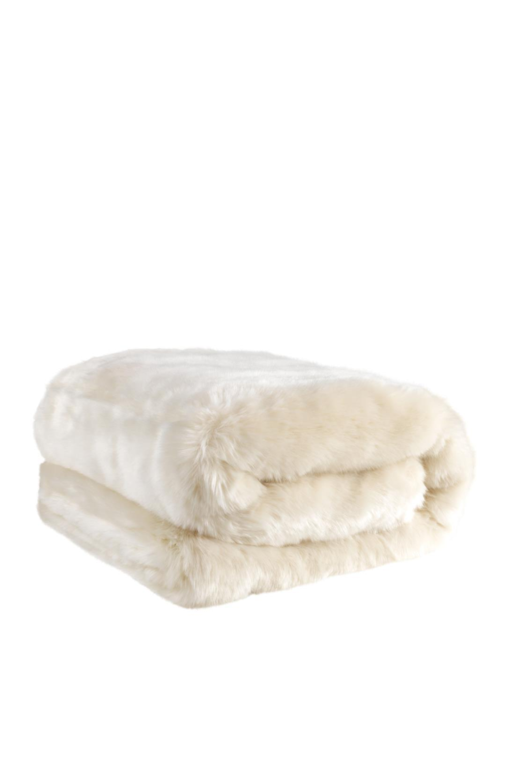 White Fur Throw | Eichholtz Alaska