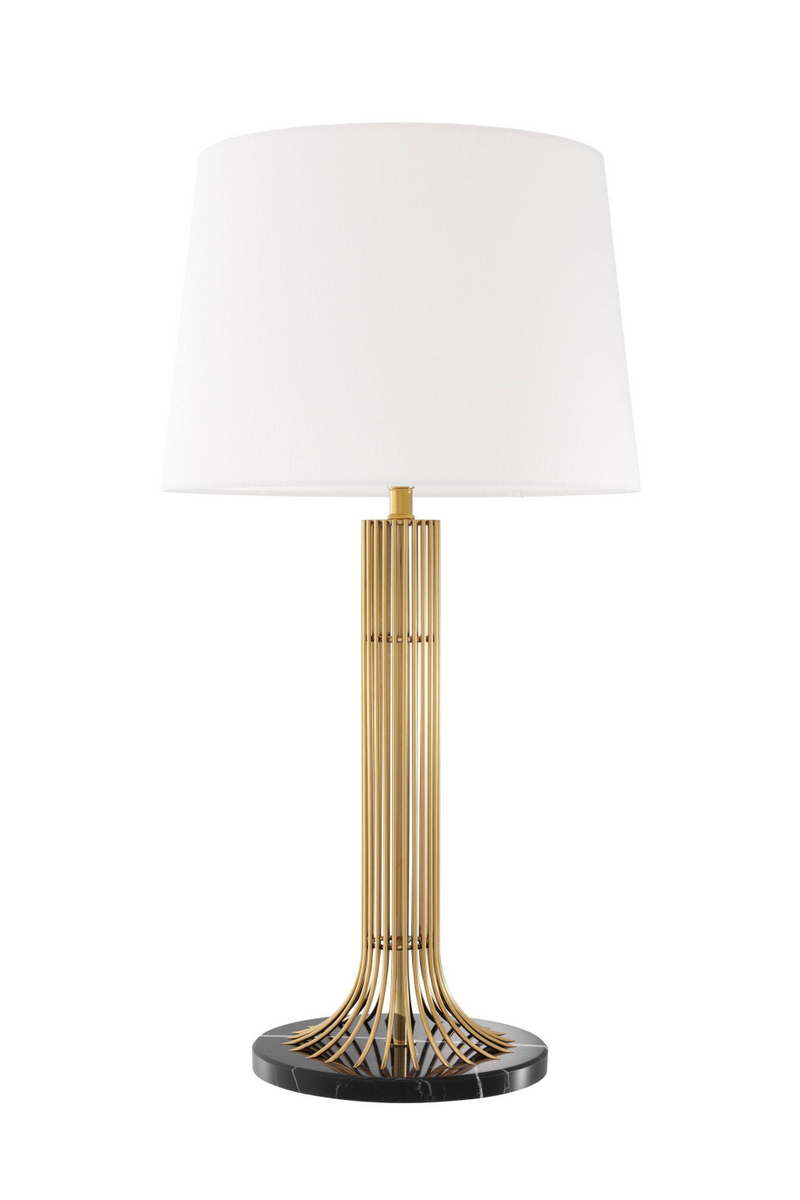 Gold Cage Table Lamp | Eichholtz Biennale | OROA Luxury Lighting