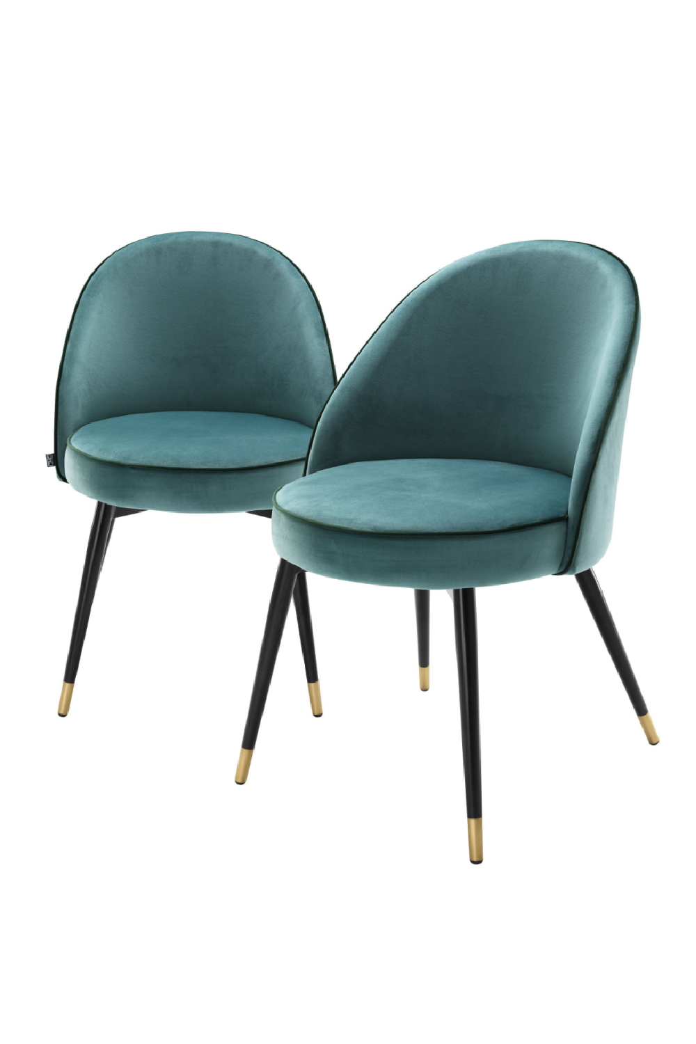 Light Blue Dining Chair Set Of 2 | Eichholtz Cooper