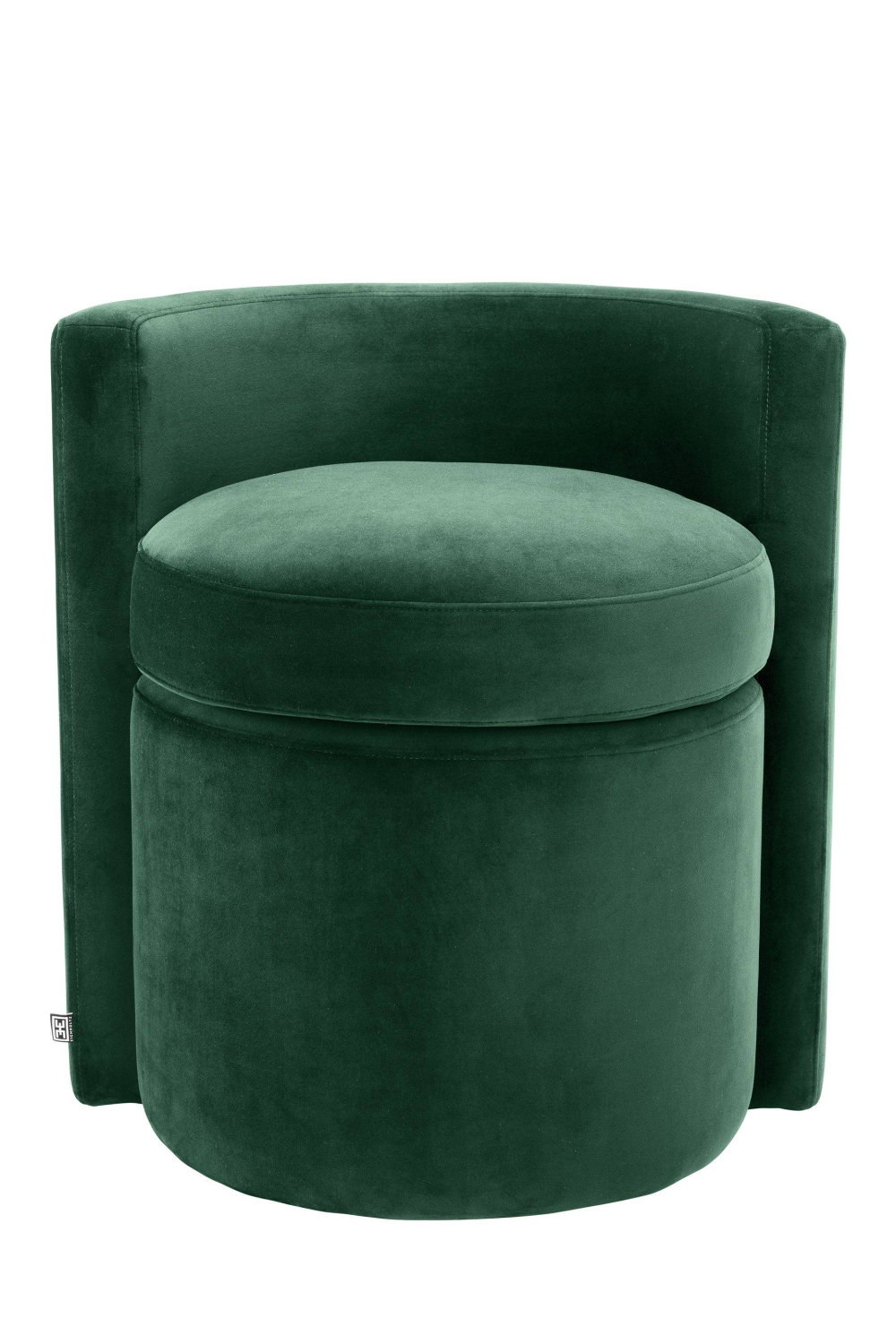Green Curved Back Stool | Eichholtz Arcadia