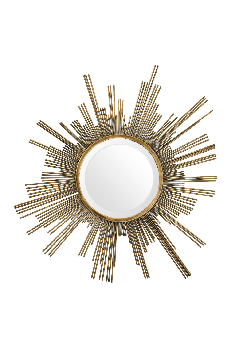 Sun Shaped Brass Mirror | Eichholtz Nikki
