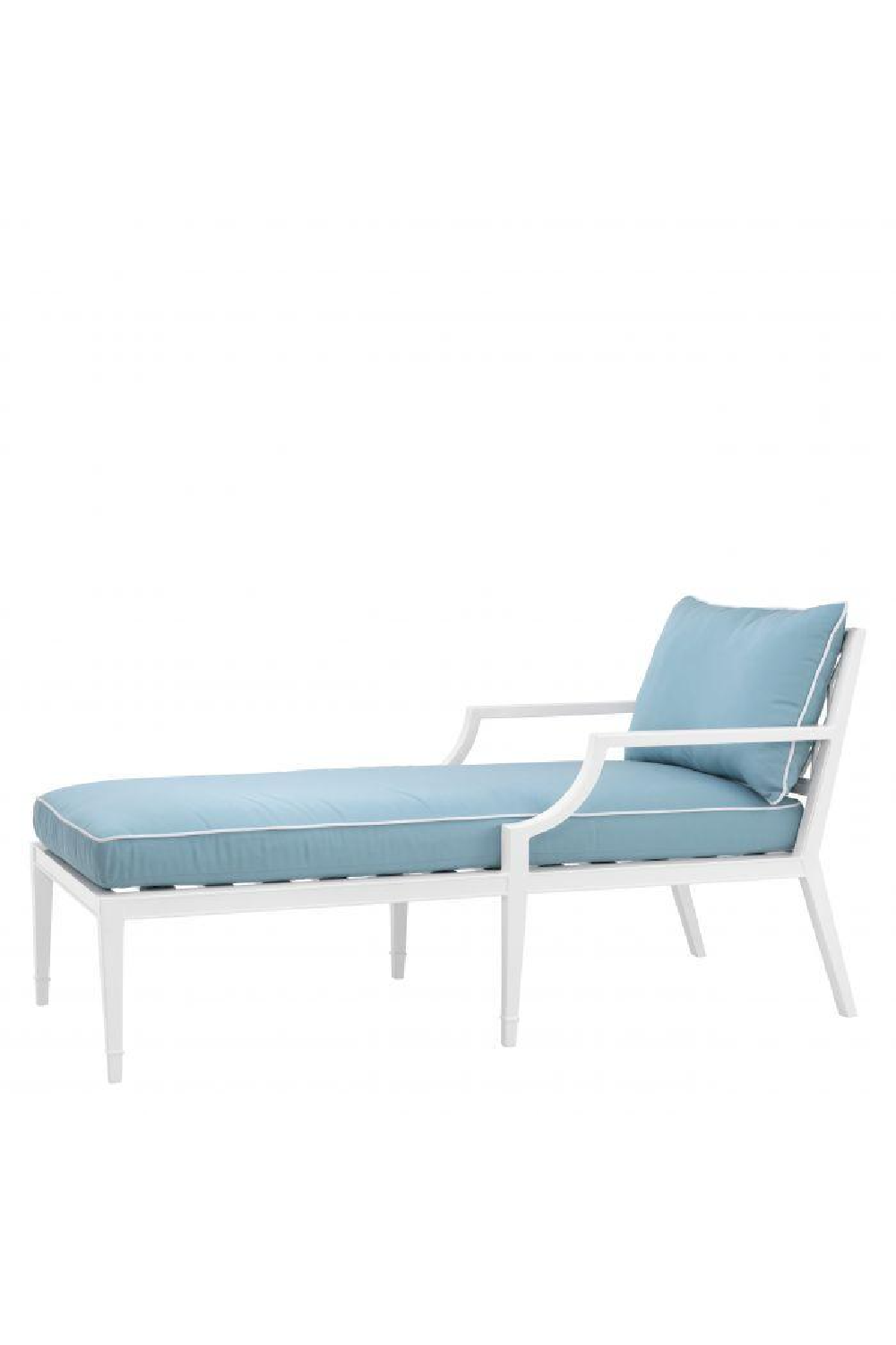 Blue Outdoor Chaise Lounge Chair | Eichholtz Bella Vista