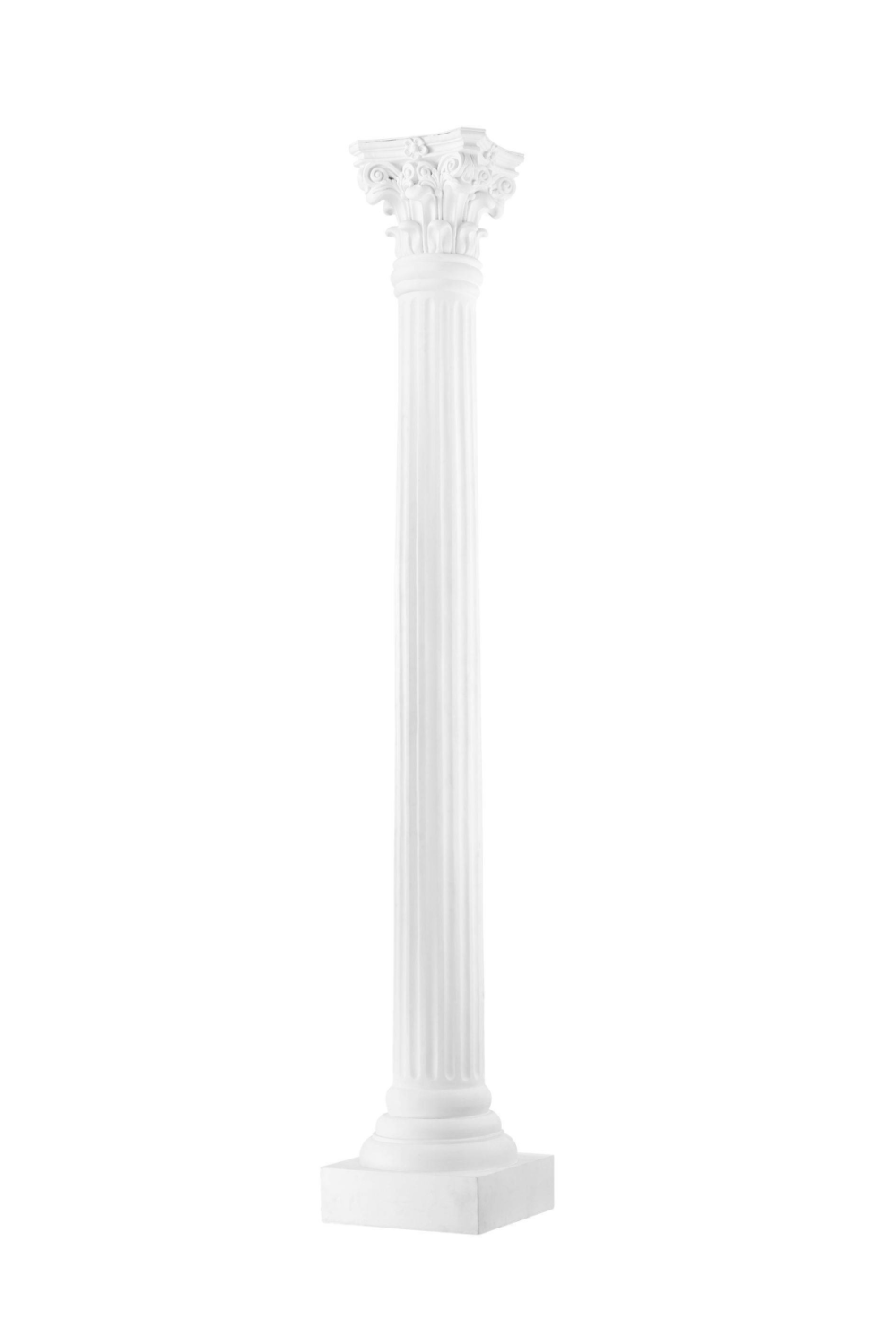 White Resin Column | Eichholtz Brignole | OROA - Modern Furniture