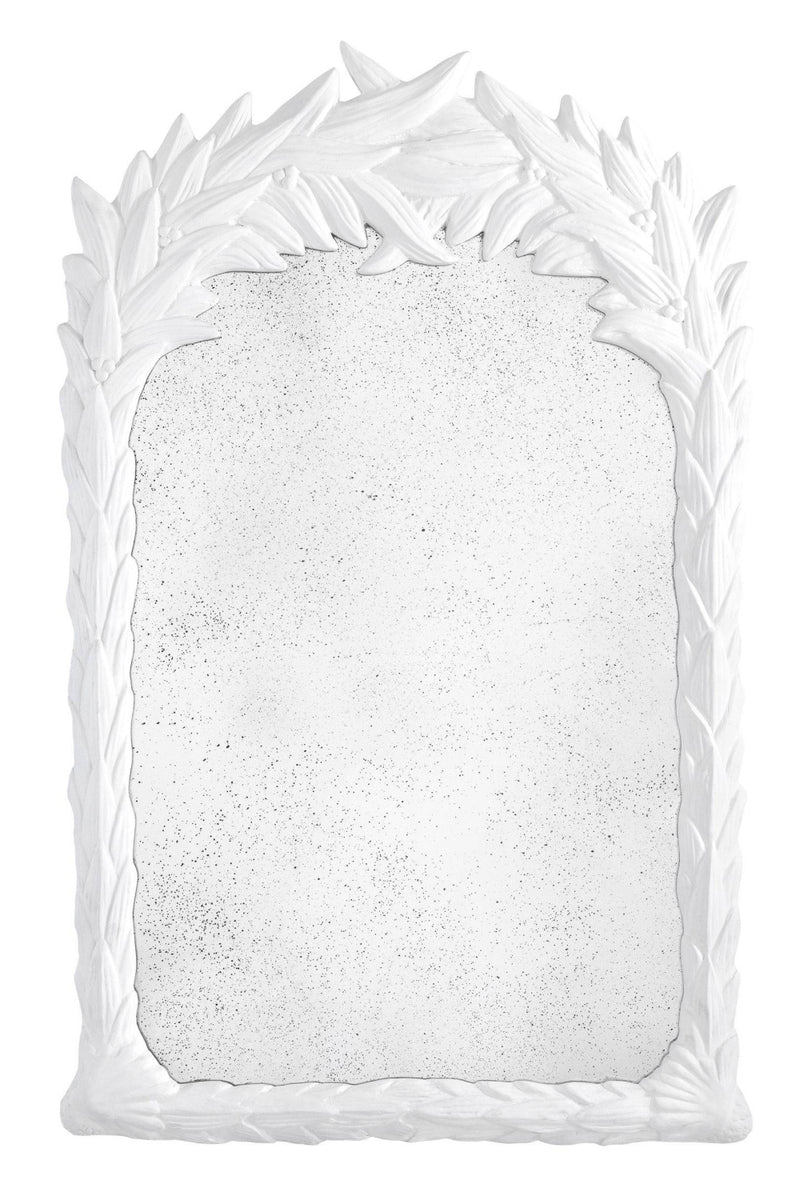 White Resin Mirror | Eichholtz Rapallo