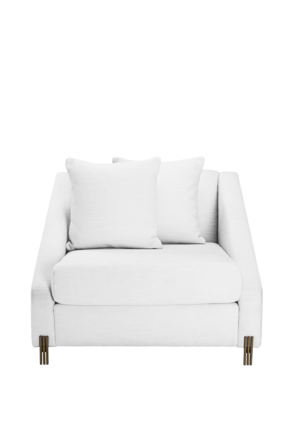 White Modern Tuxedo Chair | Eichholtz Candice | OROA Modern Furniture