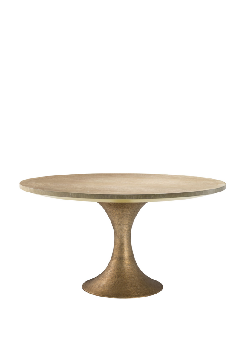 Round Oak Dining Table | Eichholtz Melchior