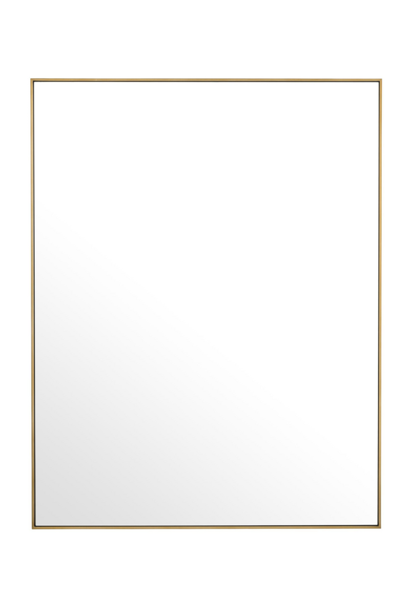 Brass Rectangular Mirror | Eichholtz Redondo | OROA - Luxury Decor