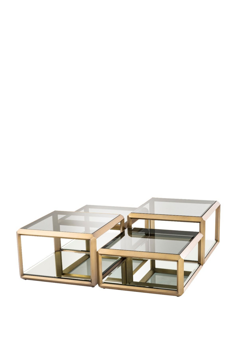 Brass Coffee Table Set | Eichholtz Callum