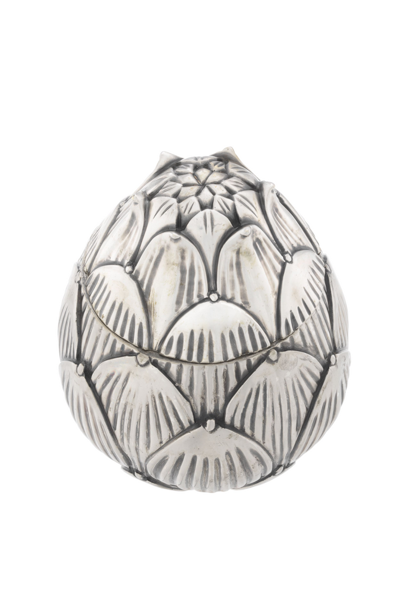 Antique Silver Plated Box | Eichholtz Artichoke