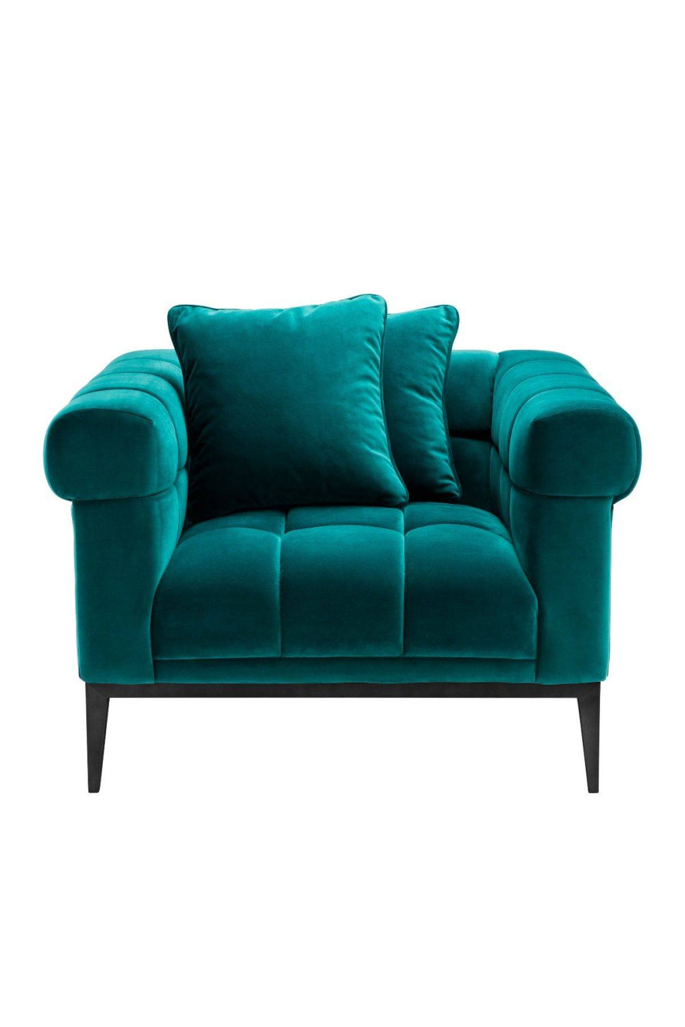 Tufted Sea Green Chair | Eichholtz Aurelio | #1 Eichholtz Retailer