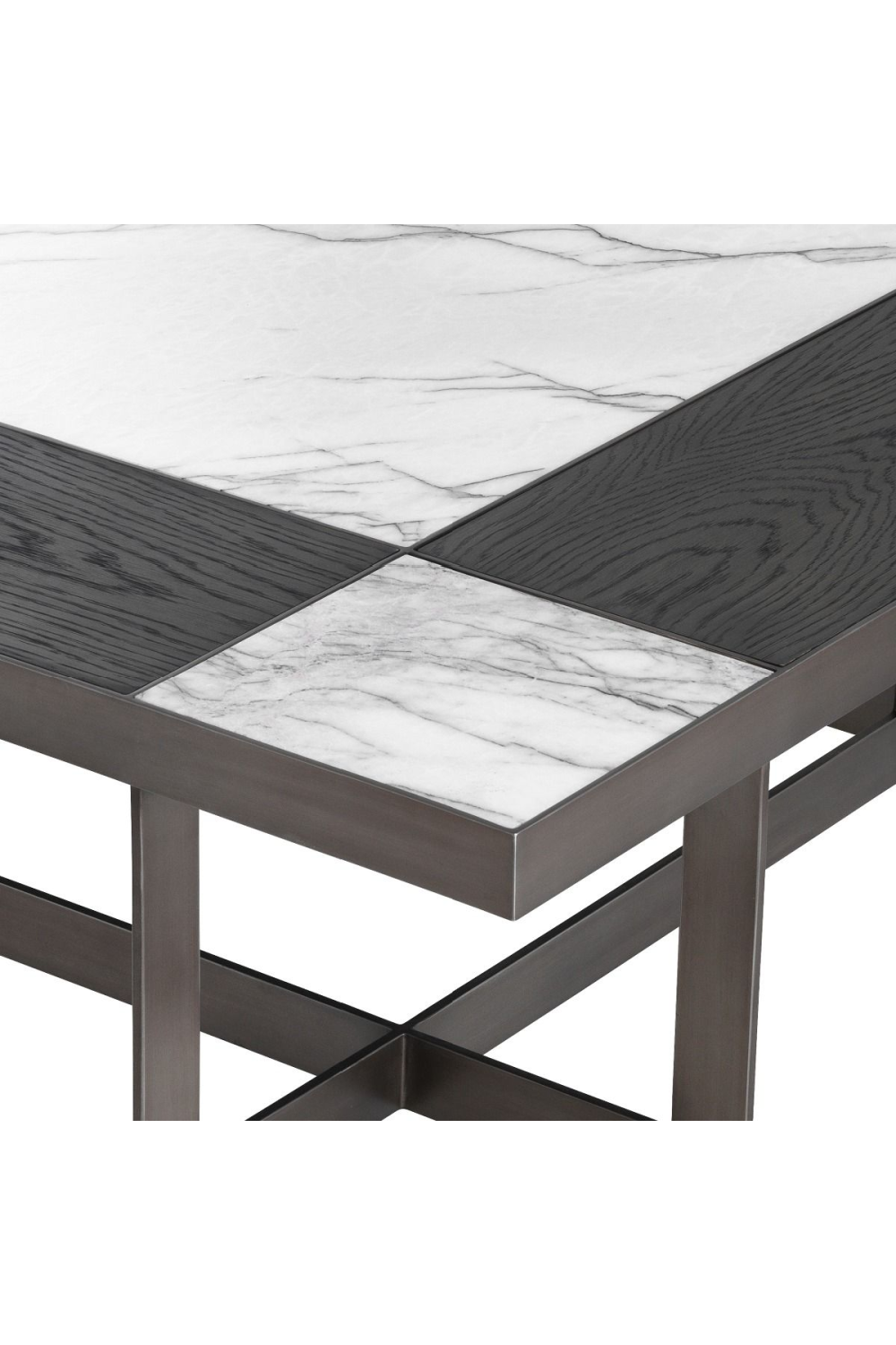 White Mocha Coffee Table | Eichholtz Hermoza