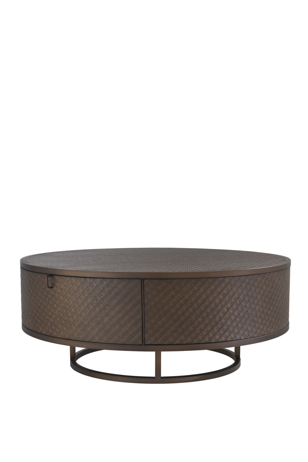 Woven Oak Coffee Table | Eichholtz Napa Valley