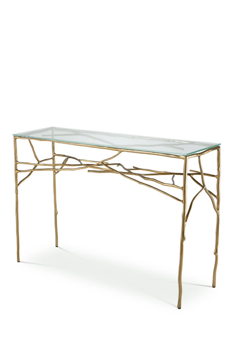 Messing Branch Console Table | Eichholtz Antico | # 1 Eichholtz detailhandler