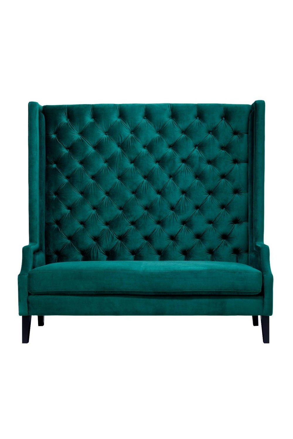 High Tufted Green Sofa | Eichholtz Spectator | Woodfurniture.com