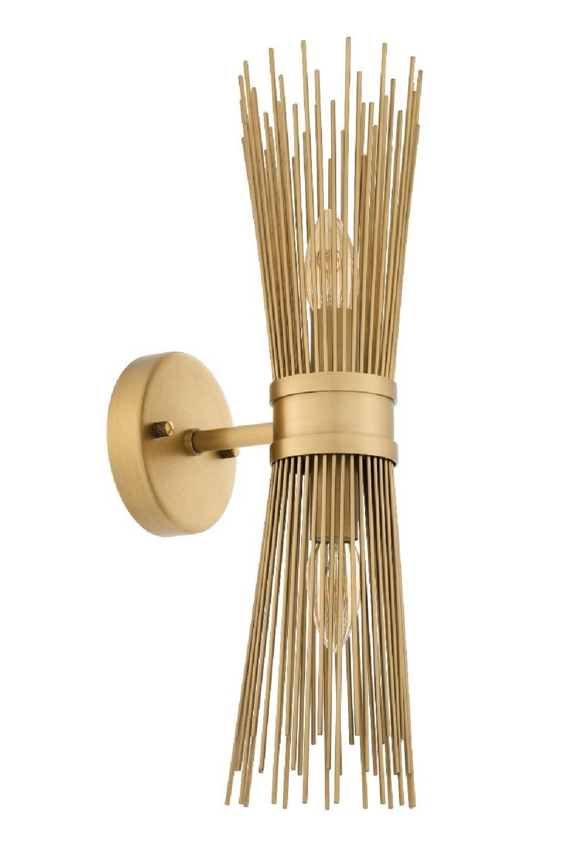 Brass Wall Lamp | Eichholtz Romeo | OROA - Luxury Lighting