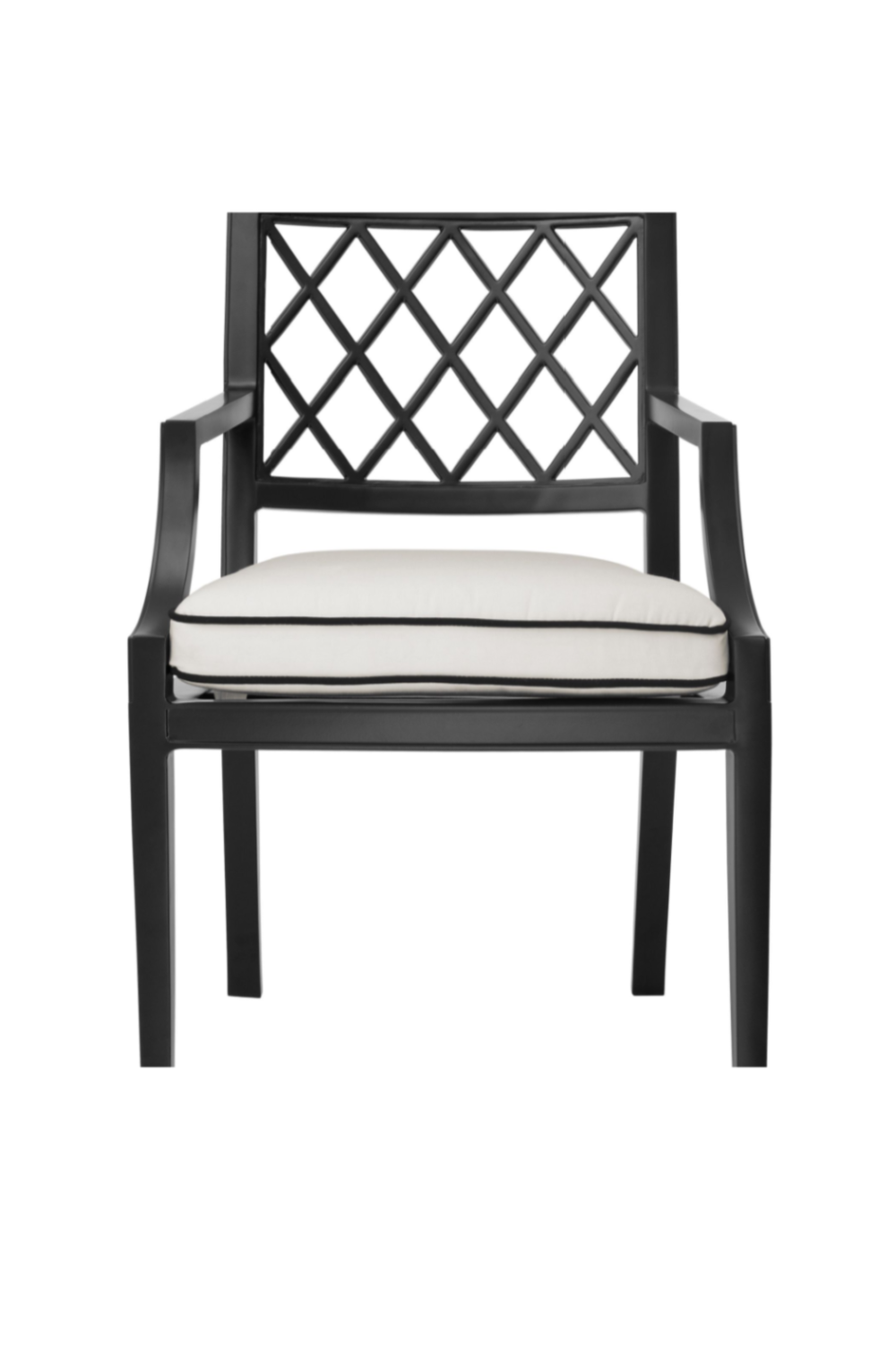 Black Outdoor Dining Armchair | Eichholtz Paladium