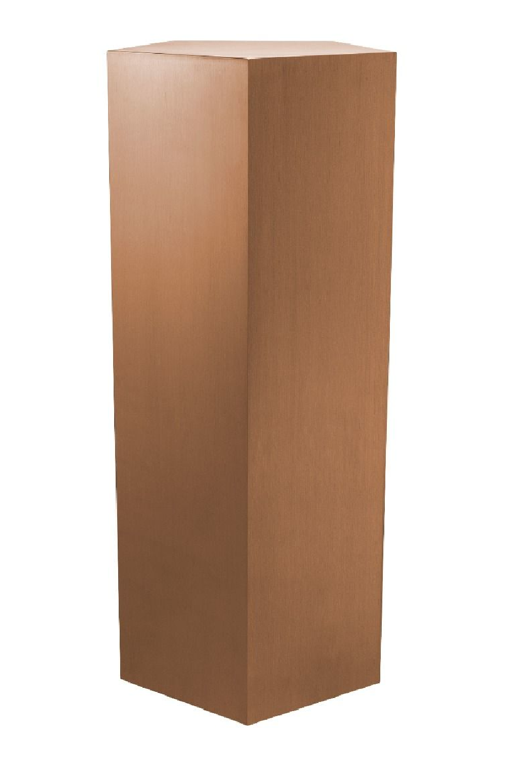 Brushed Copper Pedestal Column - L | Eichholtz Meissner | OROA Decor