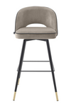 Greige Swivel Bar Stool Set of 2 | Eichholtz | #1 Eichholtz Retailer