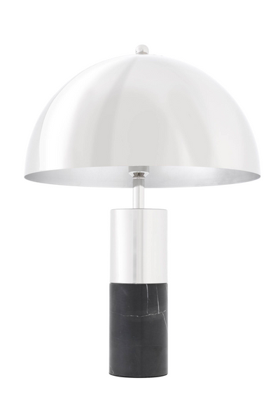 Silver Metal Dome Table Lamp | Eichholtz Flair | #1 Eichholtz Retailer