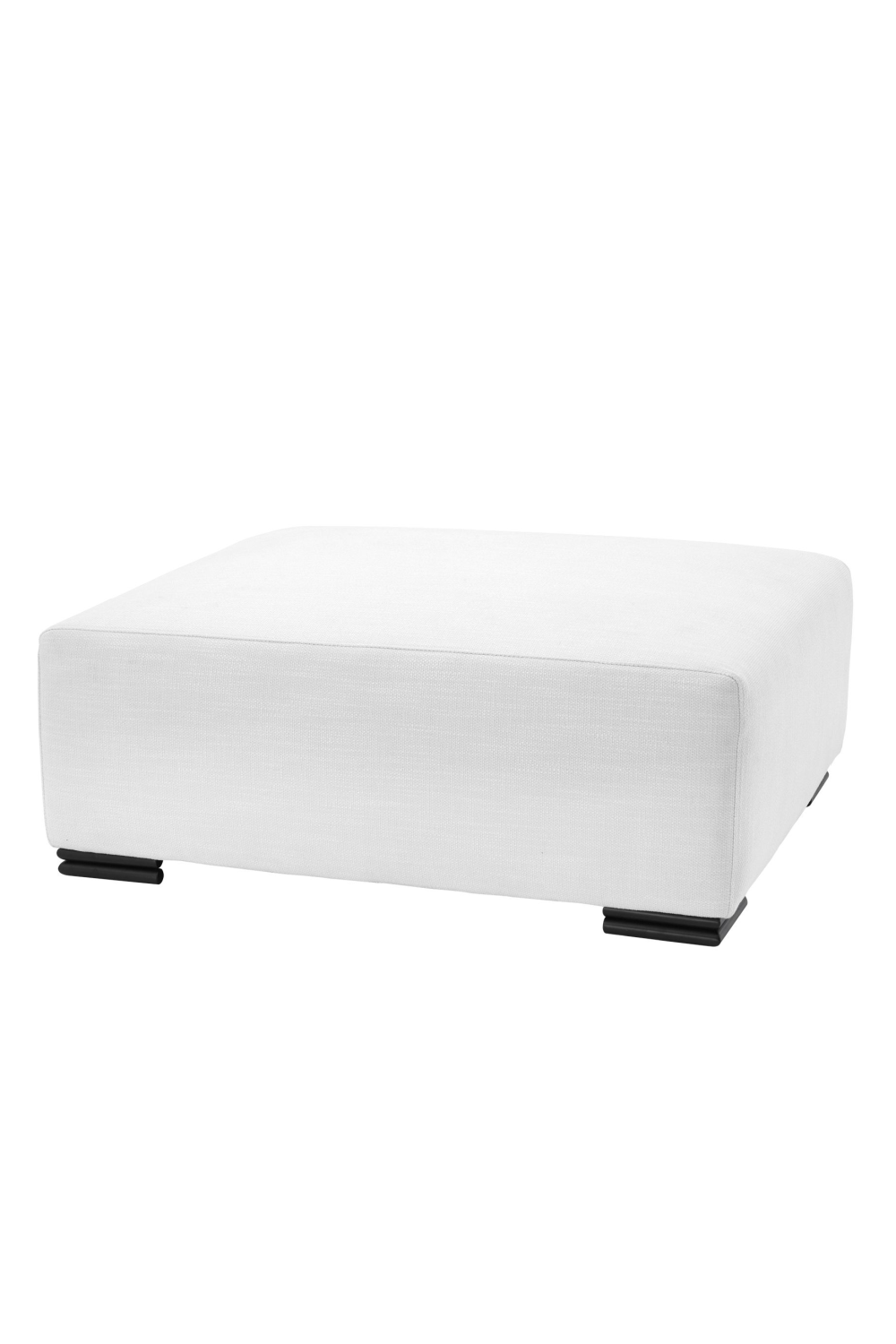 Avalon White Ottoman | Eichholtz Clifford