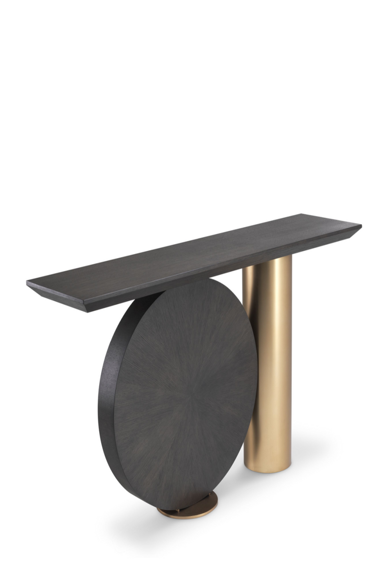 Wooden Brass Console Table | Eichholtz Spring