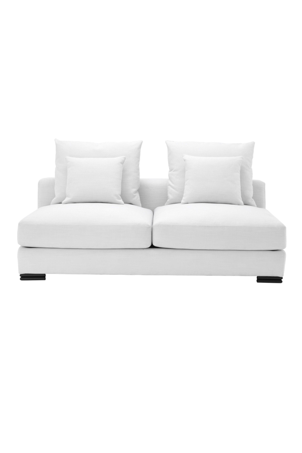 Avalon Modular White 2-Seater Sofa | Eichholtz Clifford