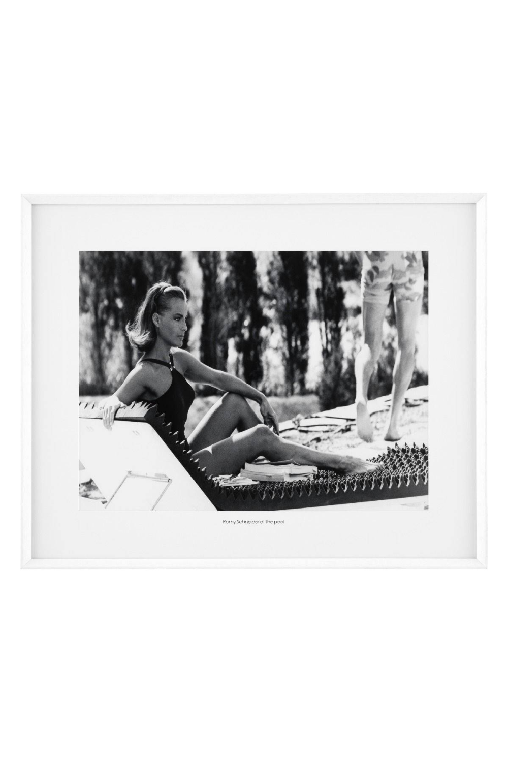Romy Schneider Print | Eichholtz At the Pool | #1 Eichholtz Retailer
