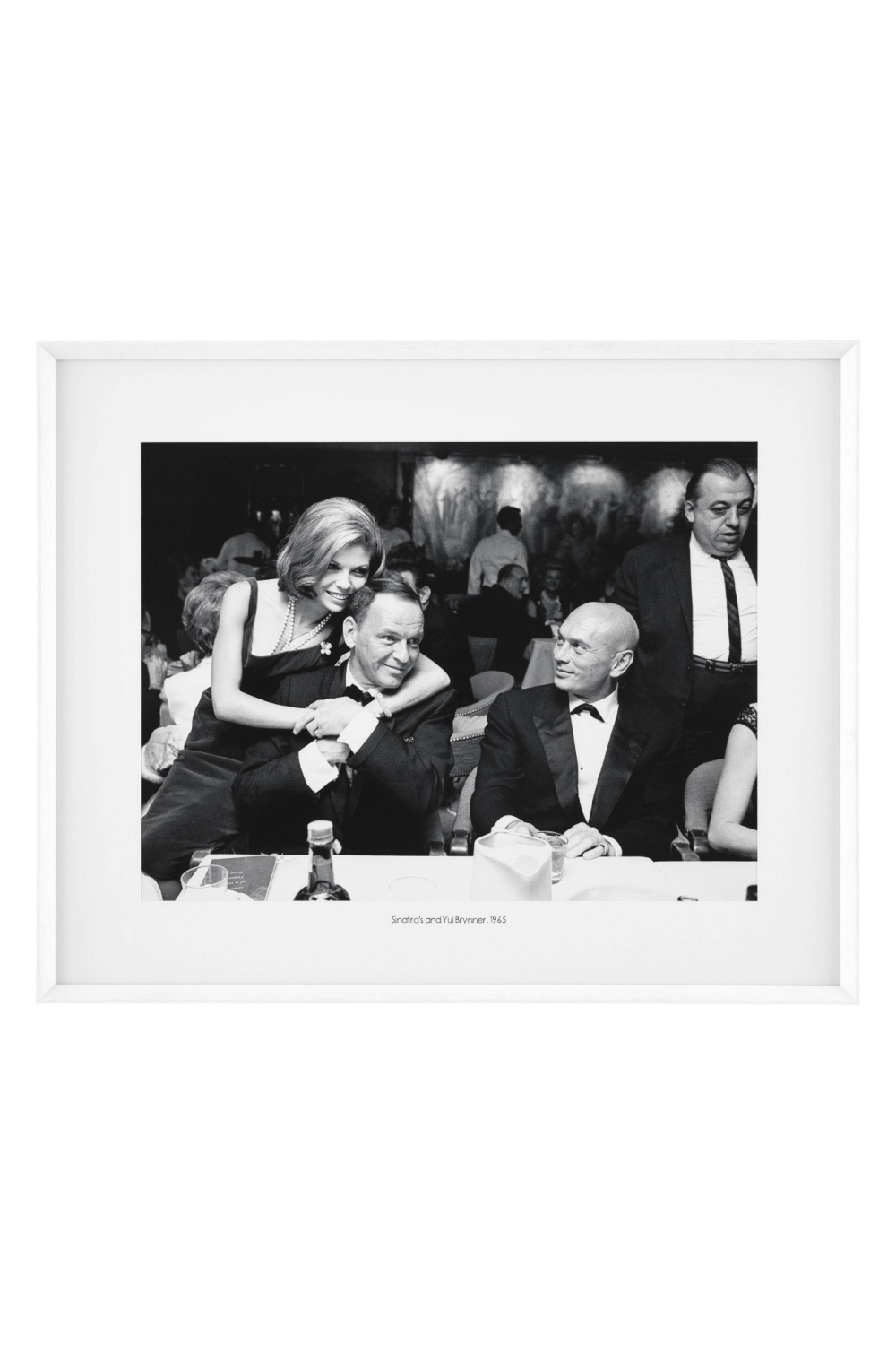 Black and White Classic Print | Eichholtz Sinatra and Yul | Woodfurniture.com