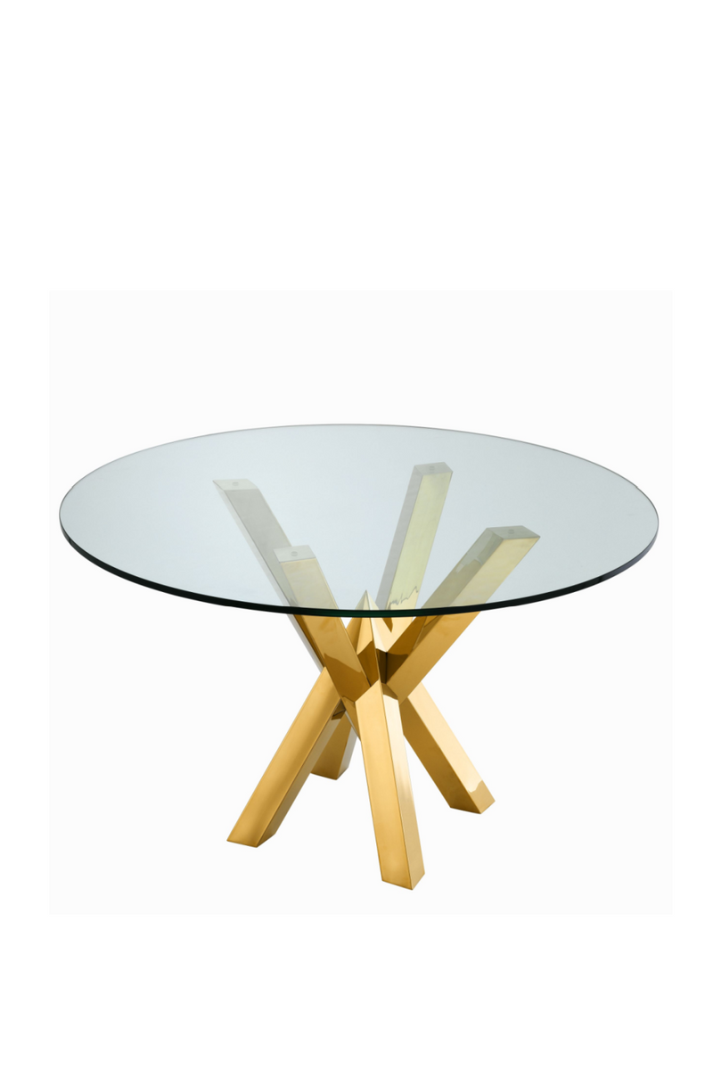 Gold Dining Table | Eichholtz Triumph