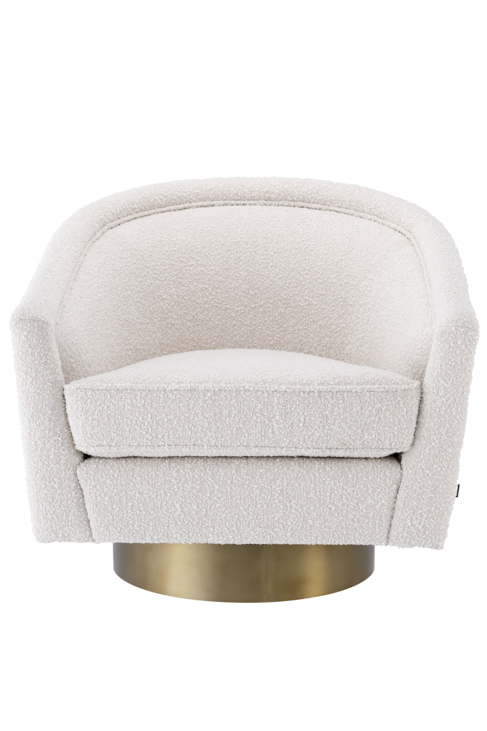 Bouclé Swivel Barrel Chair | Eichholtz Catene | #1 Eichholtz Retailer