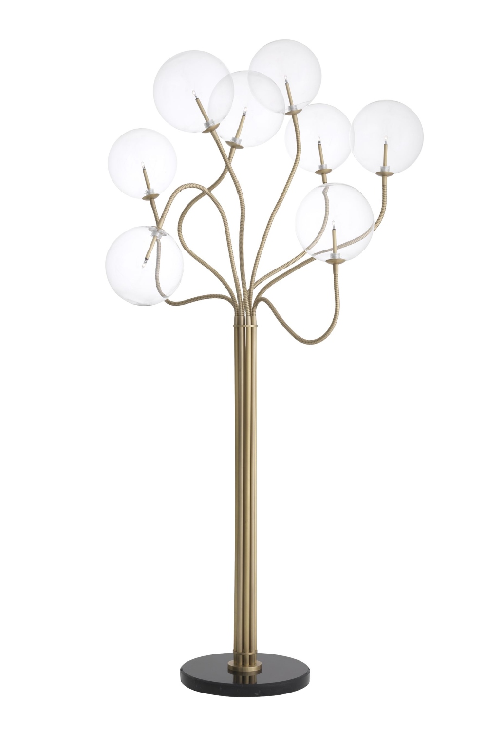 Antique Brass Tree Floor Lamp | Eichholtz Elon