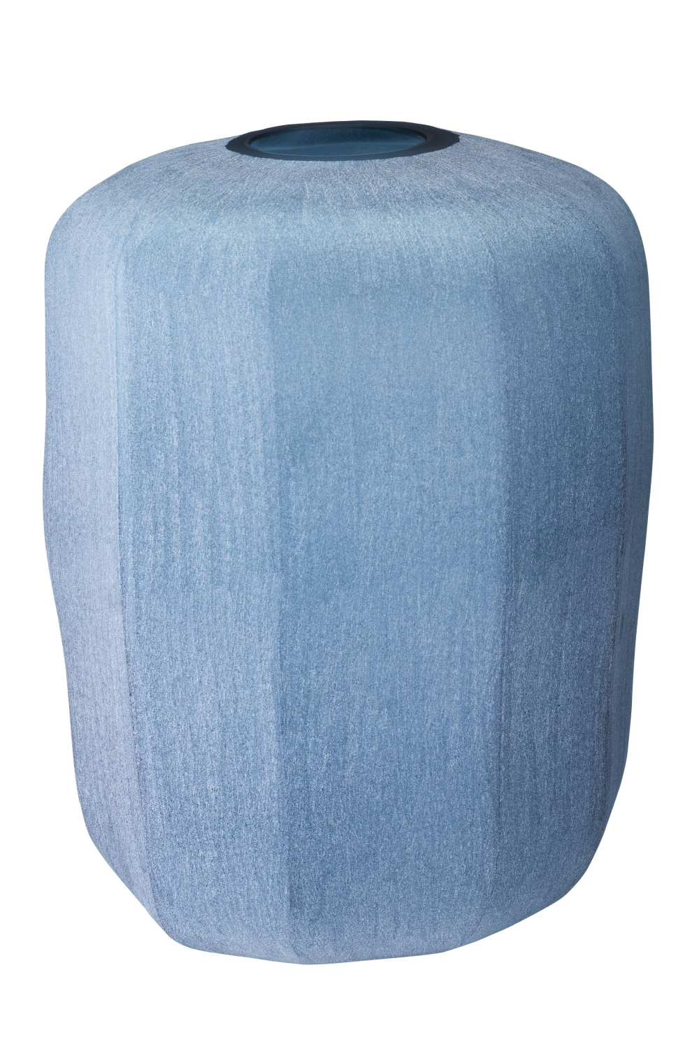 Blue Hand Blown Glass Vase | Eichholtz Avance L