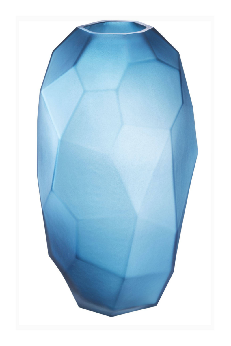 Blue Hand Blown Glass Vase | Eichholtz Fly L |