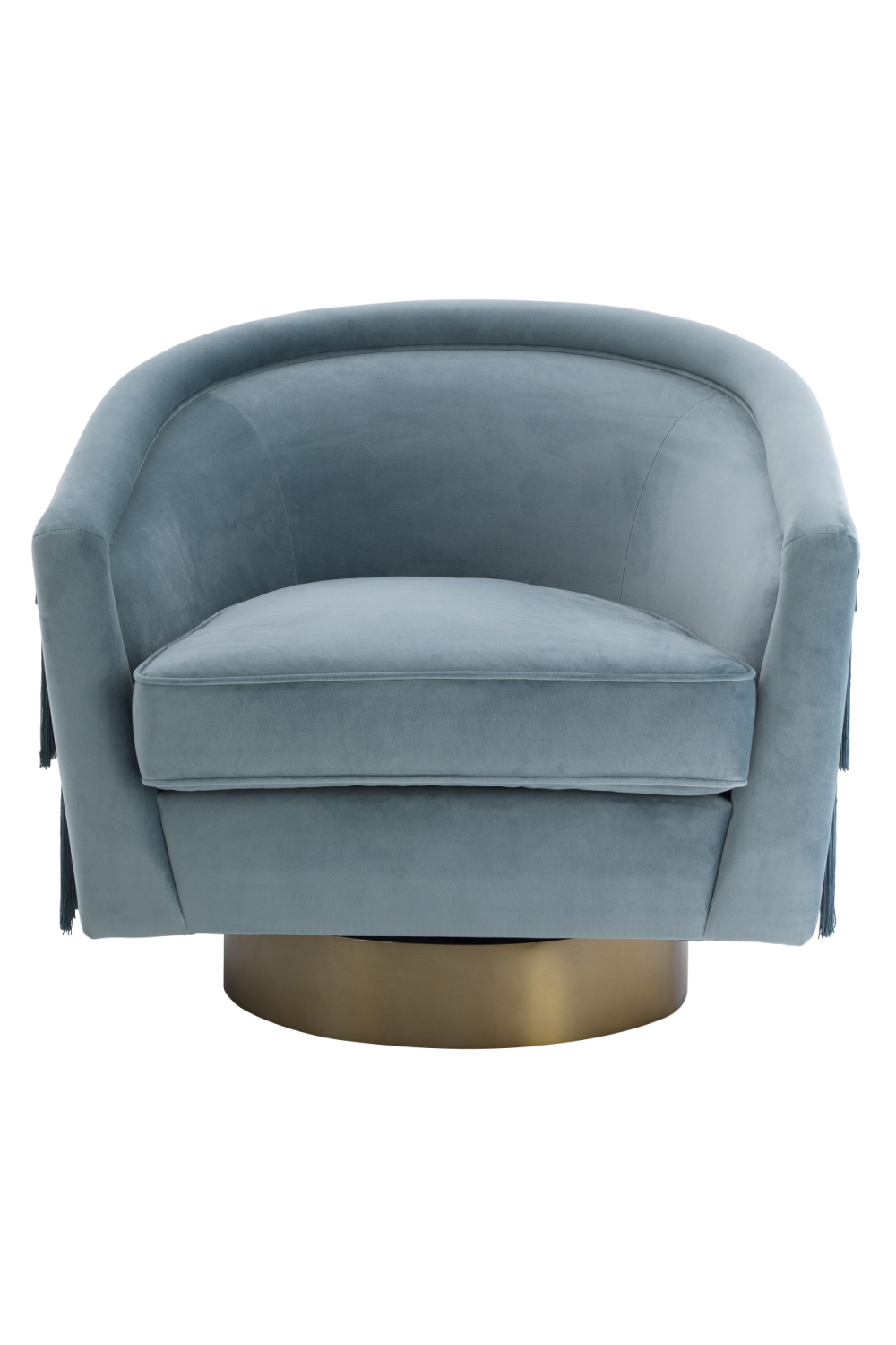 Blue Velvet Swivel Chair | Eichholtz Le Vante